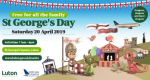 St George's Day 2019 - dragons, dragons and more dragons