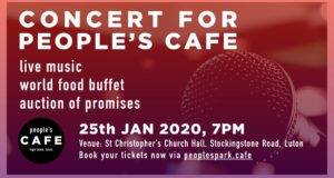 People's Park Cafe Fundraiser