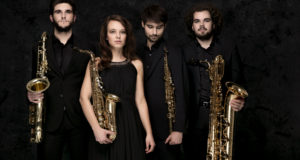 Arcis Saxophone Quartet in Luton! - a must for all aspiring saxophone players.
