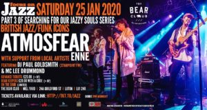 Brit Funk Superband ATMOSFEAR Live in Luton Sat 25th Jan!