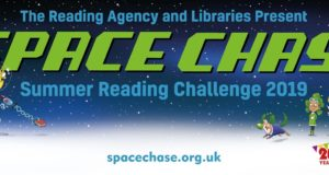 SPACE CHASE: Summer Reading Challenge 2019